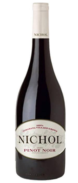 Nichol Vineyard 2010 Pinot Noir Bottle