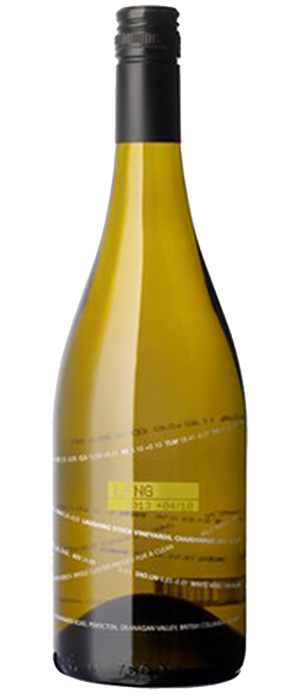 Laughing Stock Vineyards 2013 Chardonnay Bottle