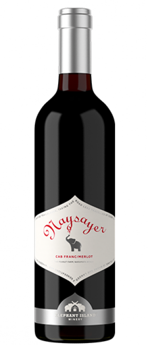 "Elephant Island Orchard Wines 2014 ""Naysayer"" Bottle"
