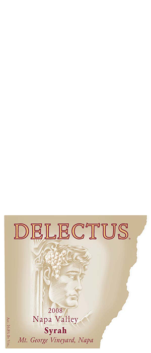 Delectus Winery 2008 Syrah (Shiraz) Bottle