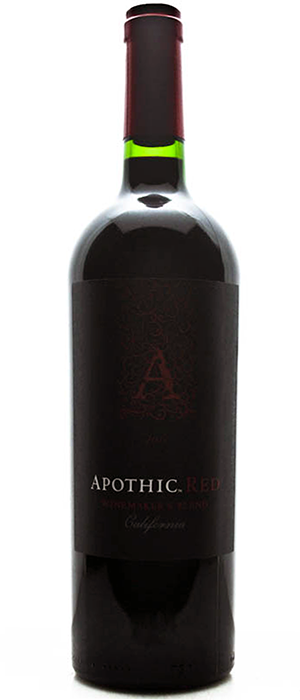 Apothic Red Bottle