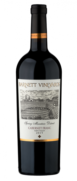 Barnett Vineyards 2015 Cabernet Franc | Red Wine