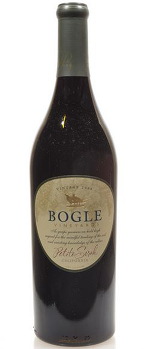 Bogle Vineyards 2012 Petite Sirah Bottle