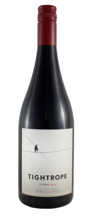 Tightrope Winery 2015 Syrah (Shiraz) Bottle