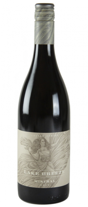 Lake Breeze Vineyards Cellar Series Mistral - Syrah Bottle
