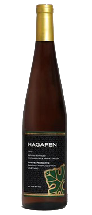 Hagafen Napa Valley White Riesling Bottle