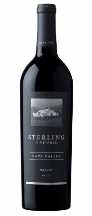 Sterling Vineyards 2012 Merlot Bottle