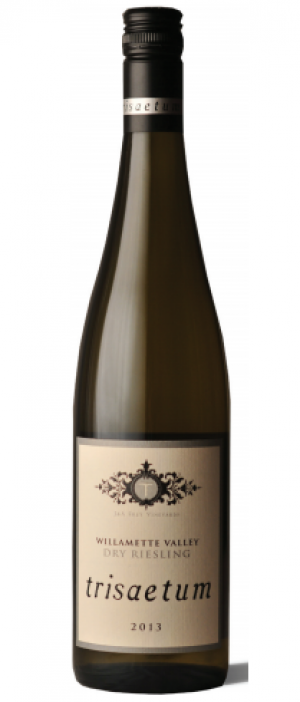 Trisaetum 2013 Dry Riesling Bottle