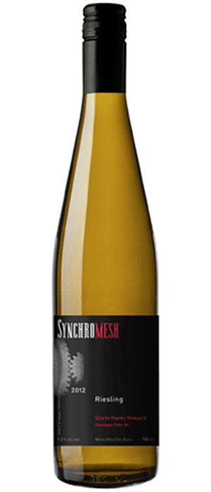 Synchromesh Wines 2013 Riesling Bottle