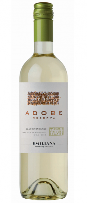 Adobe Reserva Sauvignon Blanc 2014 Bottle