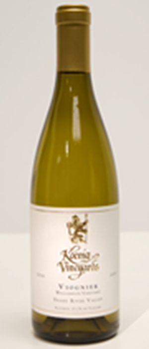 Koenig Distillery and Winery 2012 Viognier Bottle