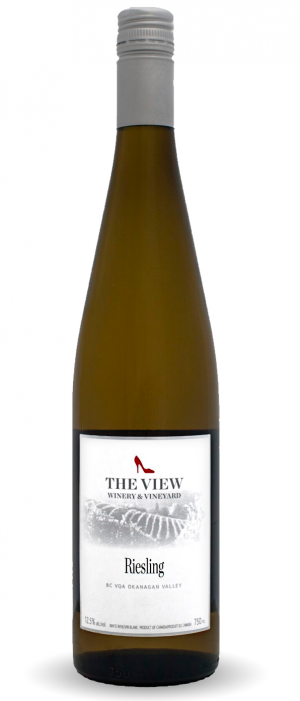 The View Winery 2015 Riesling Bottle