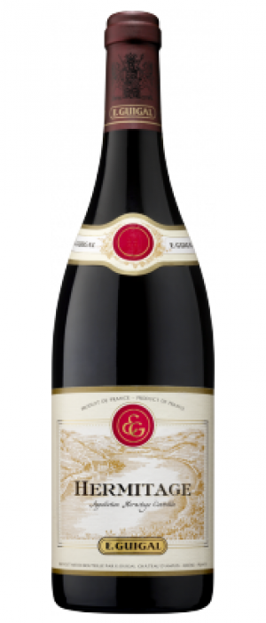 E. Guigal Hermitage 2007 Rouge Bottle