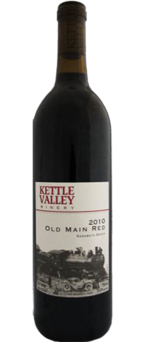 Old Main Red Bottle