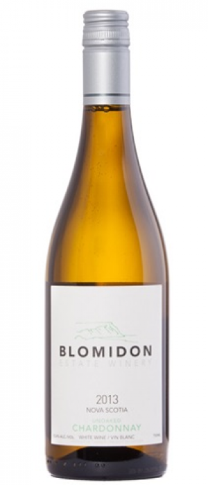 Blomidon Estate Winery 2017 Unoaked Chardonnay | White Wine