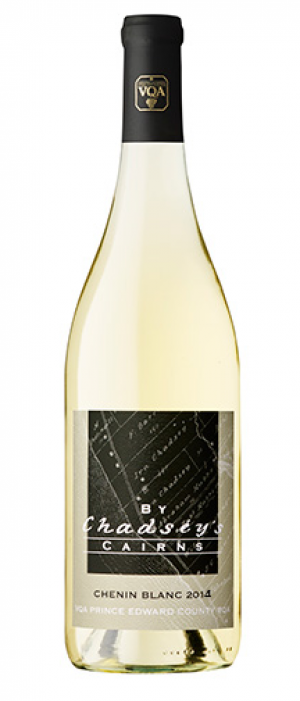 By Chadsey's Cairns Winery and Vineyard 2014 Chenin Blanc Bottle