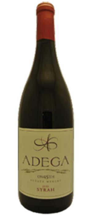 Adega on 45th Estate Winery 2011 Syrah (Shiraz) Bottle