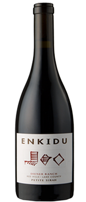 Enkidu Wine 2010 Petite Sirah Bottle