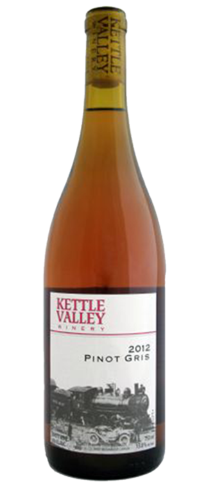 Kettle Valley Winery 2012 Pinot Gris (Grigio) Bottle