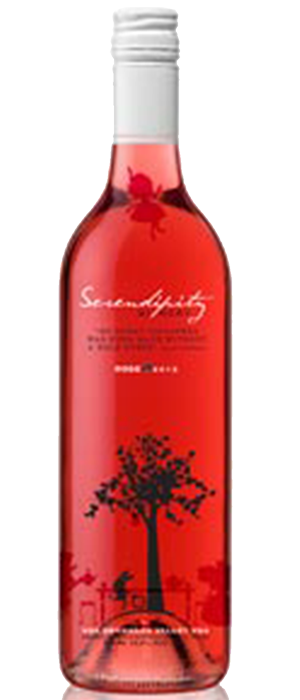 Serendipity Winery 2012 Roses Bottle