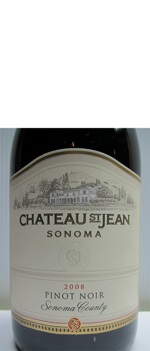 Chateau St Jean 2008 Pinot Noir Bottle