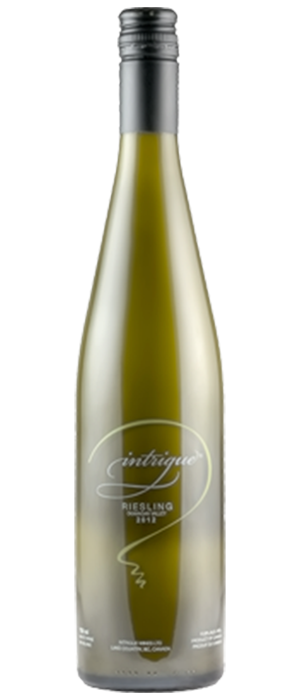Intrigue Wines 2013 Riesling Bottle