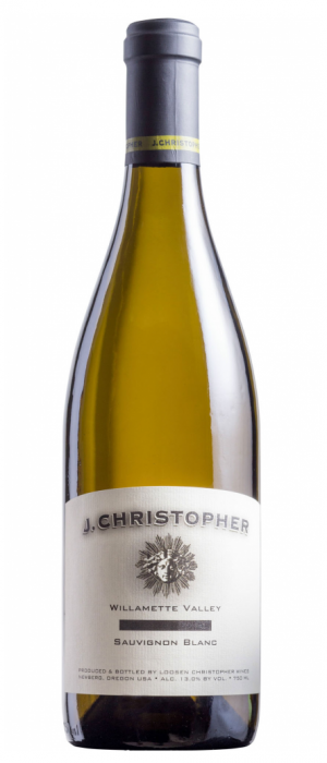 J Christopher Wines 2016 Sauvignon Blanc Bottle