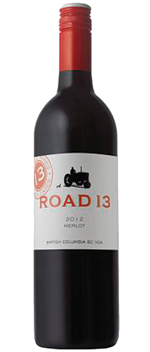 Road 13 Vineyards 2012 Merlot Bottle