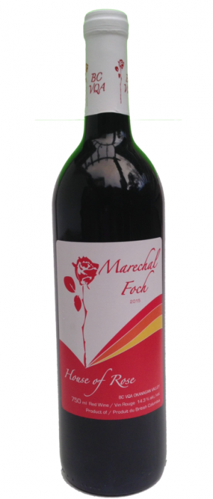 House of Rose 2015 Marechal Foch | Red Wine