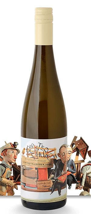Blasted Church Vineyards 2013 Gewürztraminer Bottle