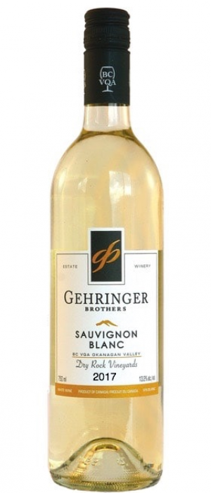 Gehringer Brothers 2017 Sauvignon Blanc Dry Rock Vineyards Bottle