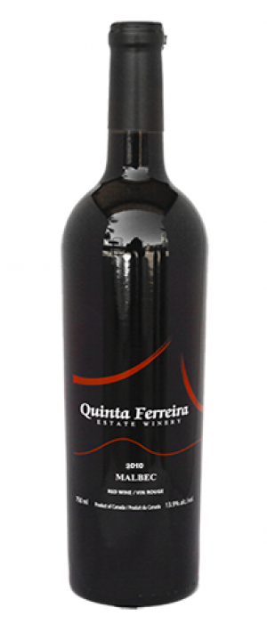 Quinta Ferreira Estate Winery 2012 Malbec Bottle