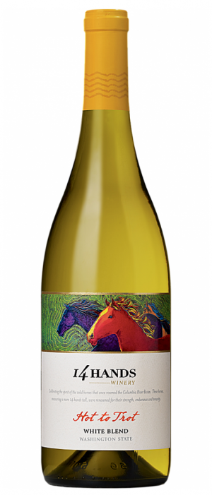 14 Hands Winery Hot To Trot 2015 White Wine Blend Washington State | White Wine
