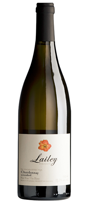 Lailey Winery 2013 Chardonnay Bottle
