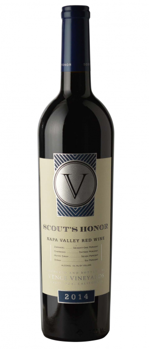 Venge Vineyards Scout's Honor 2014 Bottle