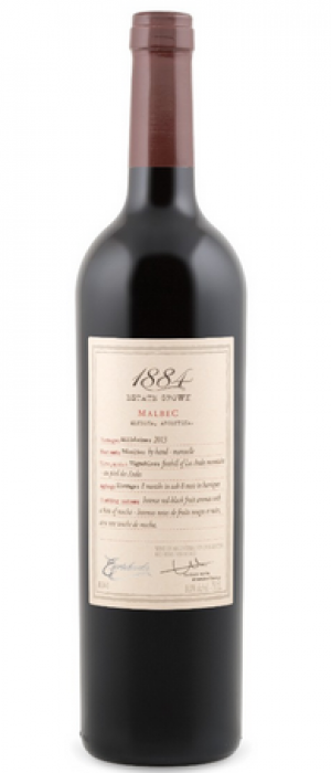 1884 Estate Grown Malbec Bottle