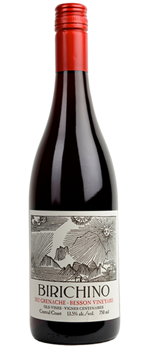 Birichino 2012 Grenache Bottle