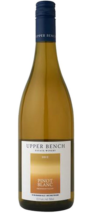 Upper Bench 2012 Pinot Blanc Bottle