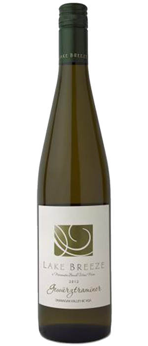 Lake Breeze Vineyards 2012 Gewürztraminer | White Wine