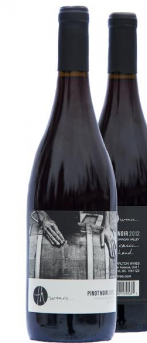 TH Wines 2012 Pinot Noir Bottle