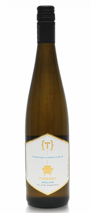 Therapy Vineyards 2017 Riesling Bottle