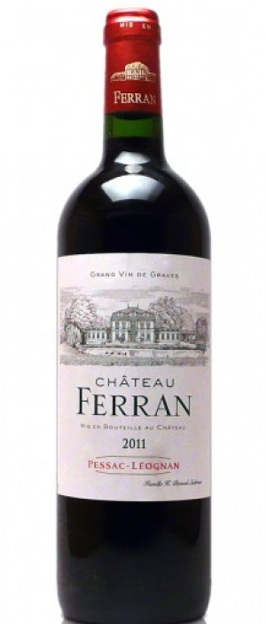 Chateau Ferran 2012 Merlot blend Bottle