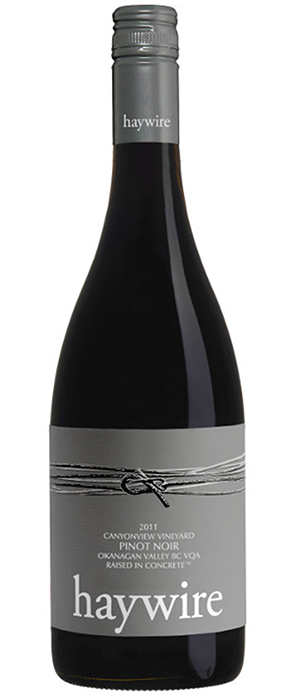 Haywire Canyonview Pinot Noir Bottle
