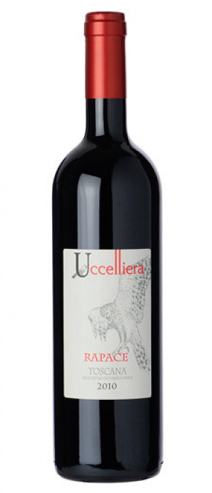 Uccelliera 2015 Rapace Toscana IGT Bottle