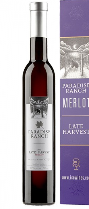 Bench 1775 Paradise Ranch 2015 Merlot VQA Late Harvest | Red Wine