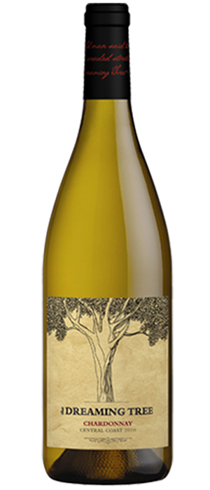 The Dreaming Tree Wines 2012 Chardonnay Bottle