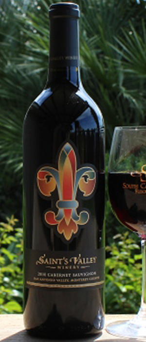 Saint's Valley Cabernet Sauvignon Bottle