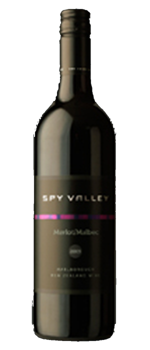 Spy Valley Wines 2012 Merlot Bottle