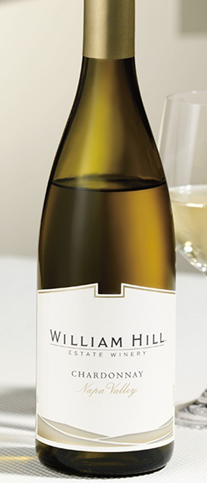 Napa Valley Chardonnay Bottle