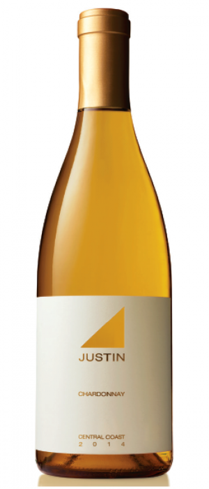 Justin Vineyards & Winery 2014 Chardonnay Bottle